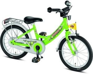 Kiwi Gruenes Puky 16 Zoll Fahrrad