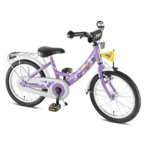 Fahrrad von Puky in Flieder Farben