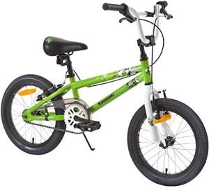Kawasaki Kraffiti Fahrrad in Gruen