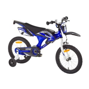 Kawasaki Kinderfahrrad in Blauer Farbe